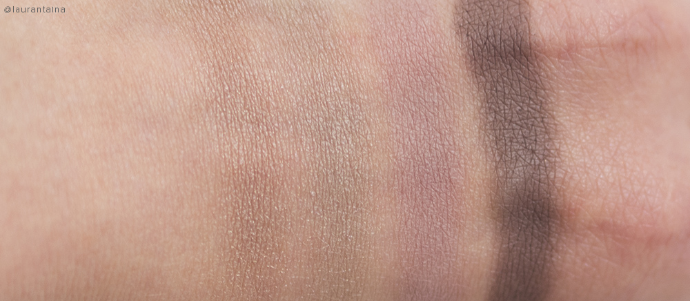 Burberry Pink Taupe Quad Swatches
