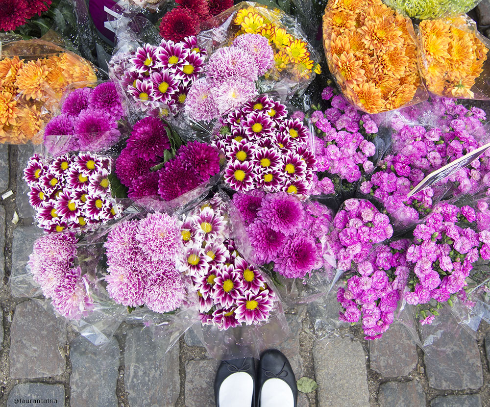 Flower market in Copenhagen