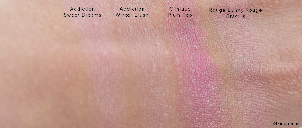 Addiction by Ayako blush swatches