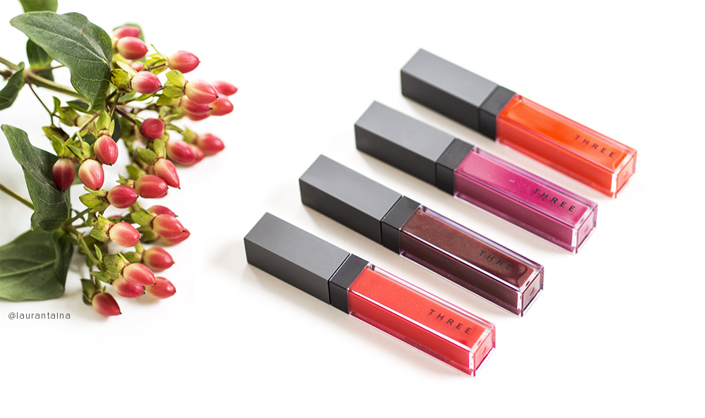 THREE Shimmering Lip Jams