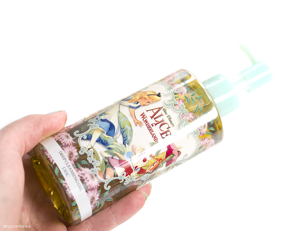 DHC Cleansing Oil Alice in Wonderland packaging