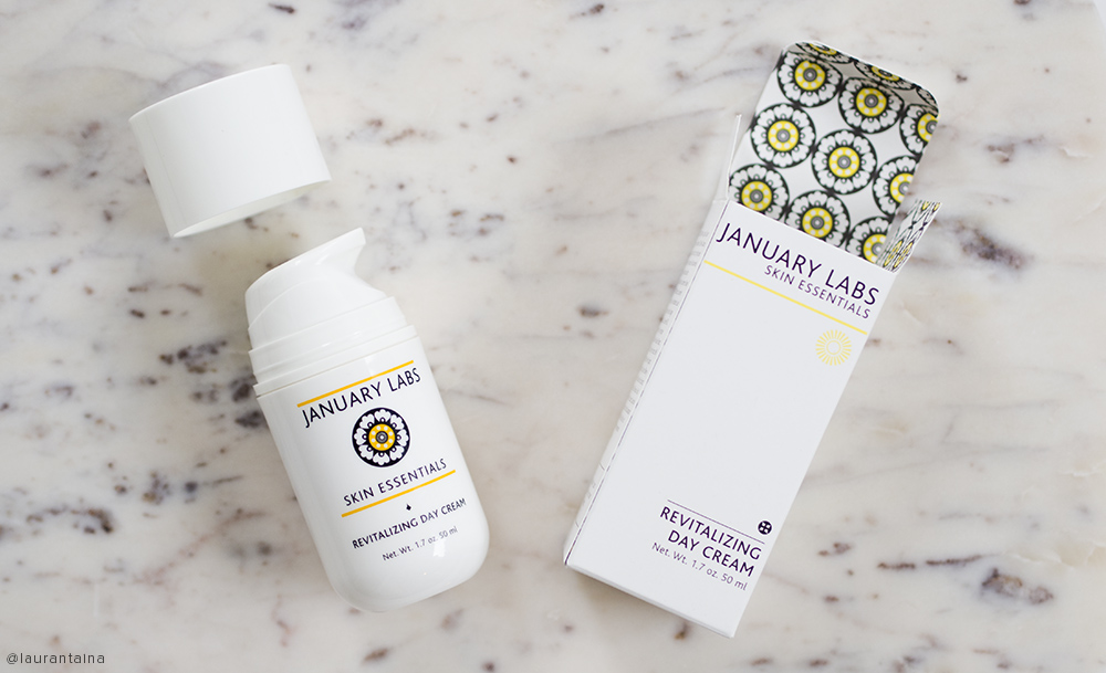 January Labs Revitalizing Day Cream packaging