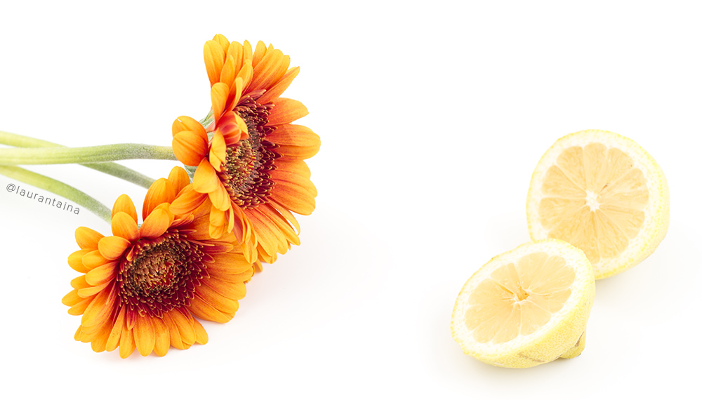 Vitamin C skincare benefits (but never use raw lemon!)