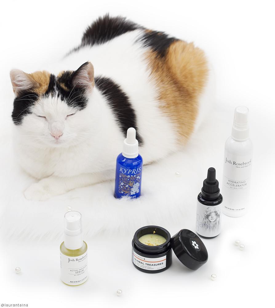 Cat and organic skincare