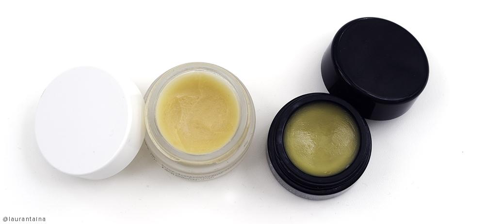 Best lip balms: Nuxe Rêve de Miel and de Mamiel Rosey lip balm
