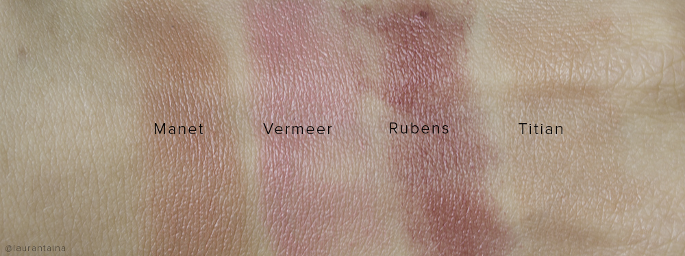 Rouge Bunny Rouge Blush Wands swatches