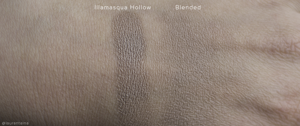 Illamasqua Cream pigment in Hollow swatch