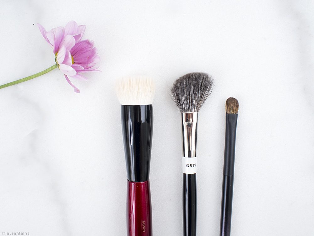 Sonia G Hakuhodo Surratt Brushes