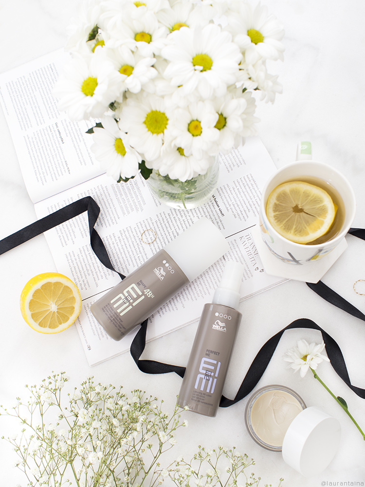 Hair Styling Wella Ouai Flatlay