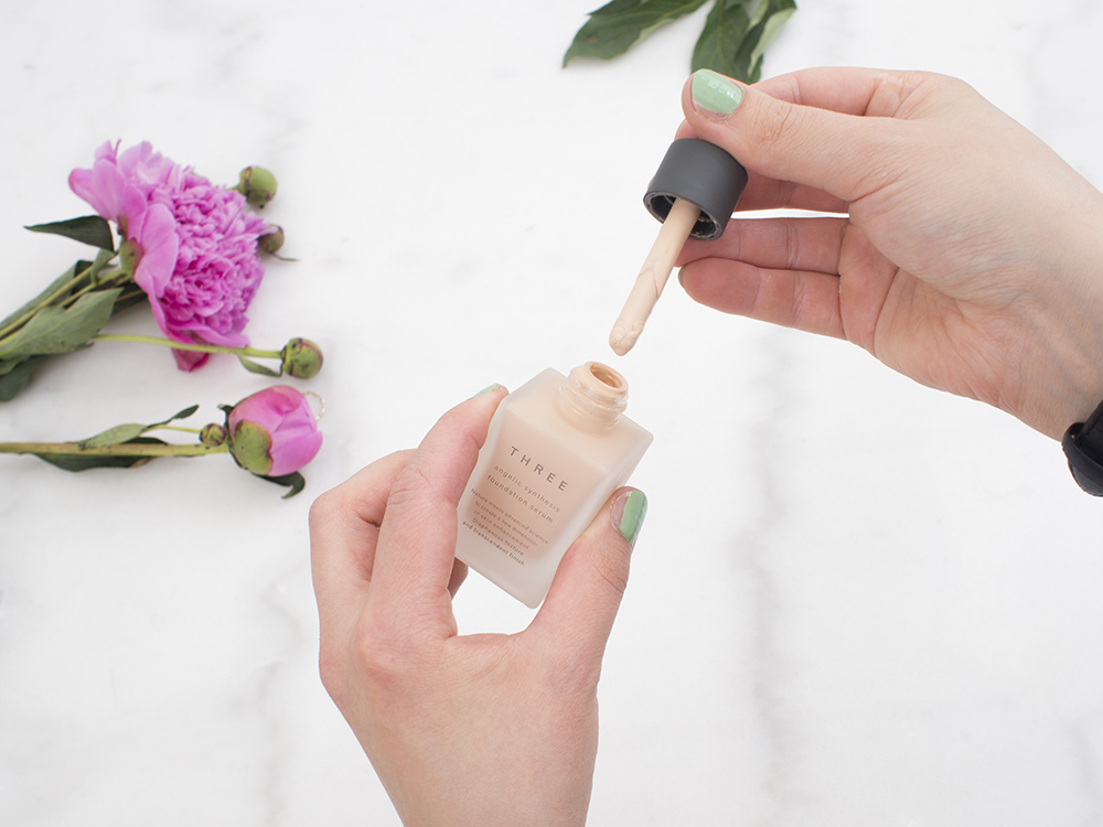 THREE Angelic Synthesis Foundation Serum Review