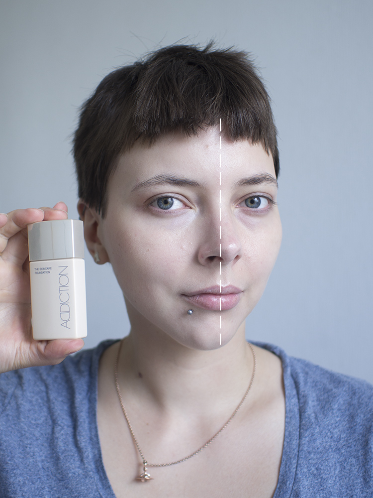 ADDICTION by Ayako Skincare Foundation Swatch | Laura Loukola Beauty Blog
