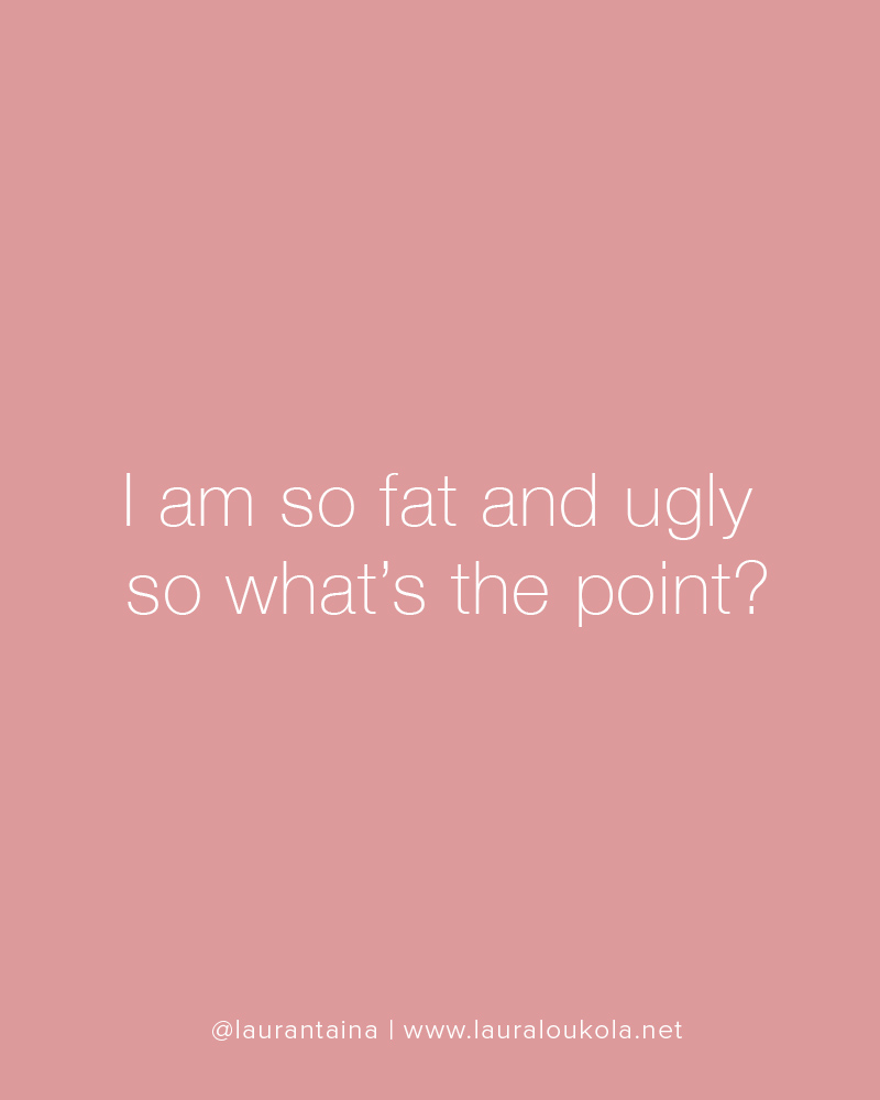 why im ugly