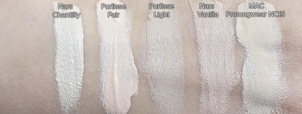Purlisse BB Cream Swatches | Laura Loukola Beauty Blog