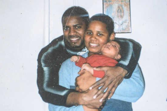 CARLOS MONTERO W/ FAMILY