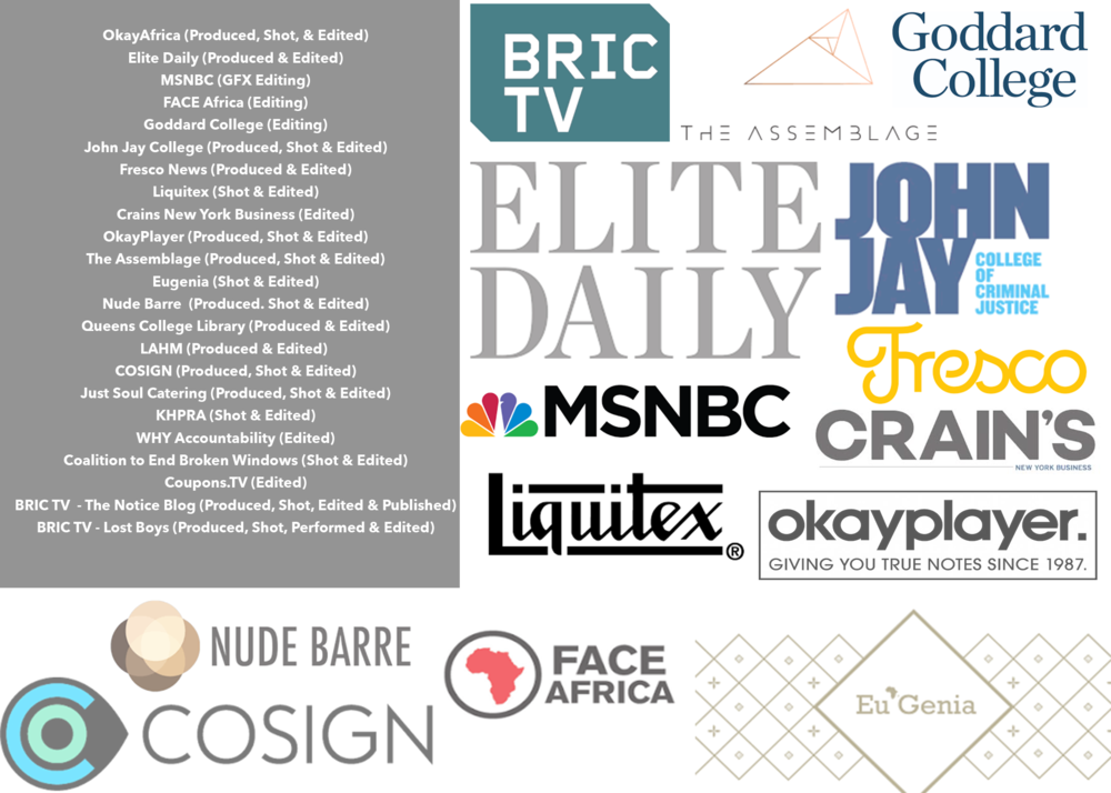 Our Clients. - Here's just a small selection of our ever-growing list of satisfied customers. If you want to be one of them, contact Paul at: Paul@TheNoticeBlog.com