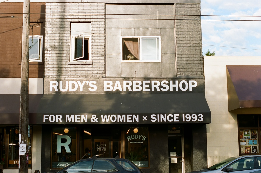 Rudy's is a famous spot to get a cut in town.
