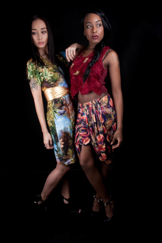 Models : Tamara K. & Sensjimelia  Photographer of this serie : Qing de Maan