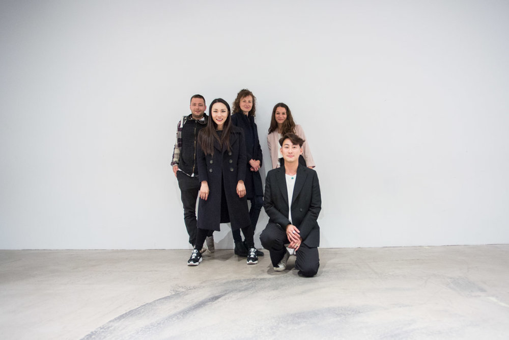 From left to right: Filip Kacalski, Madi Chen, Monika Ustyniak, Clémence Lerondeau and Damur Huang in CIFF47 Copenhagen.