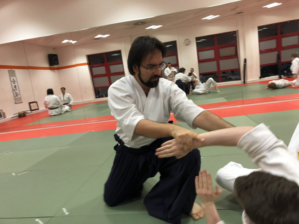 Assistant instructor: Zoltán Tompa Rank: 1st Kyu Aikikai