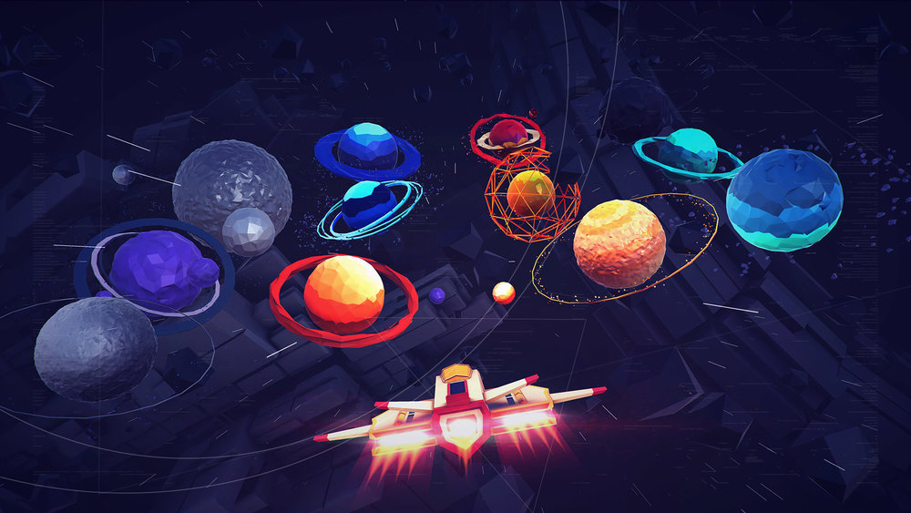 Space And Unity In Art : Space journey — beffio game assets development