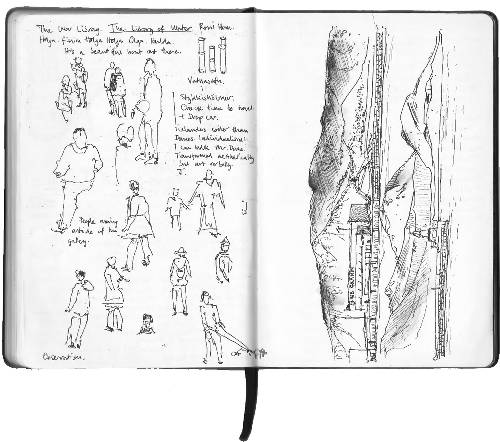 Sketchbook extract Peter Bullough