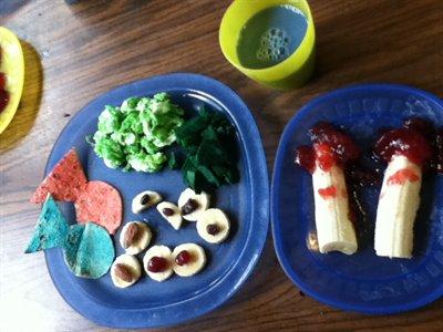 Kids Create a Dr. Seuss Lunch