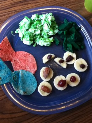Kids Create A Dr. Seuss Lunch Cont.