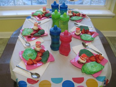 Green Eggs and Ham Brunch for 1-3 years of age