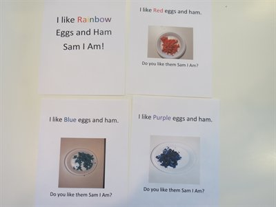 Rainbow Eggs and Ham