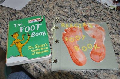Dr. Seuss Activities - Foot Book