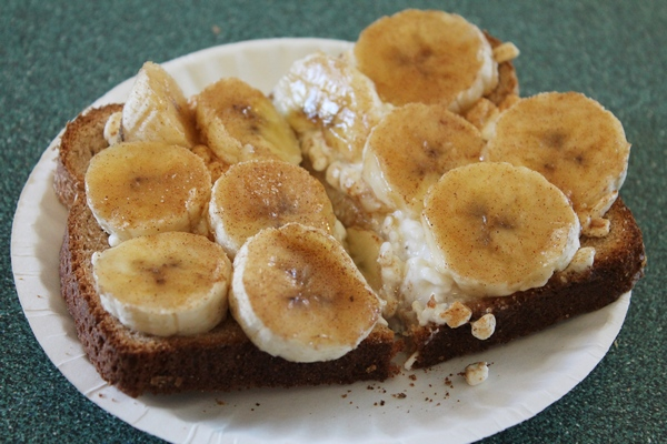 AM Snack: Banana-Rama Breakfast, 1% Milk