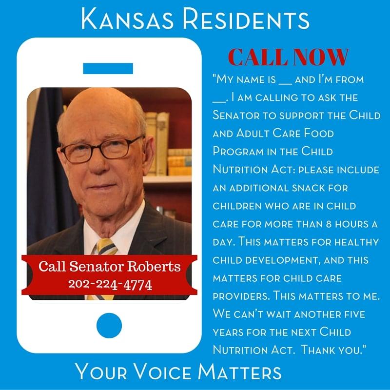 Senator Roberts - Kansas Residents