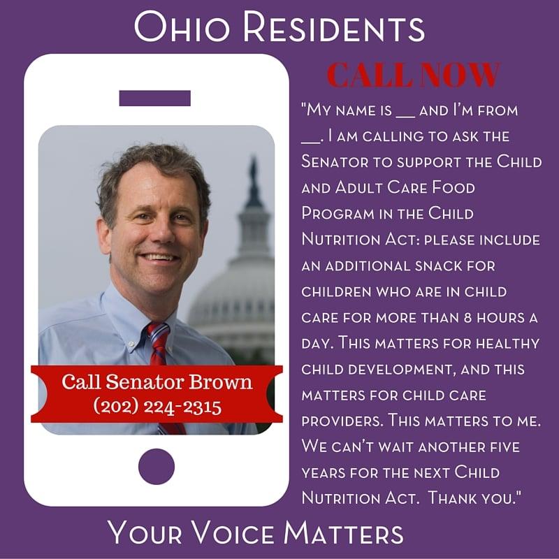 Senator Brown - Ohio Residents