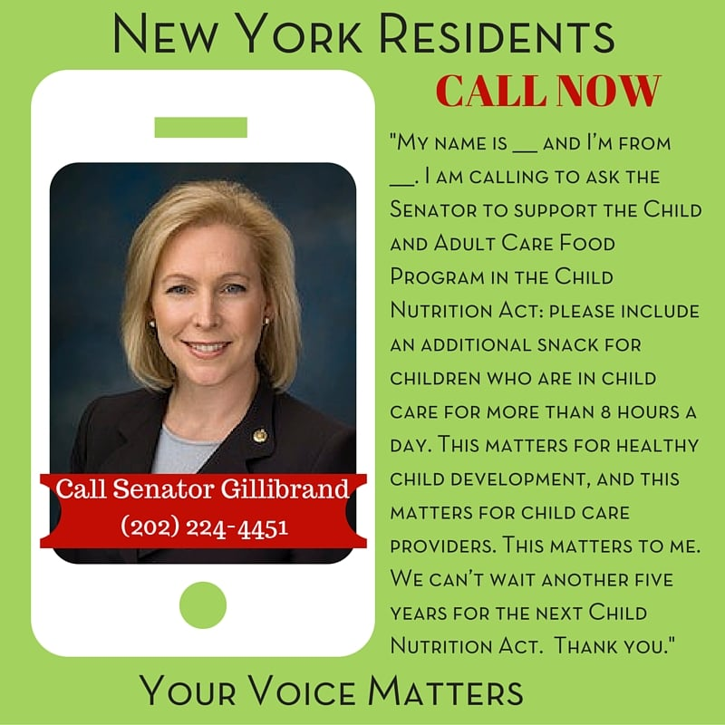 Senator Gillibrand - New York Residents