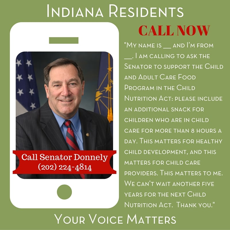 Senator Donnely - Indiana Residents