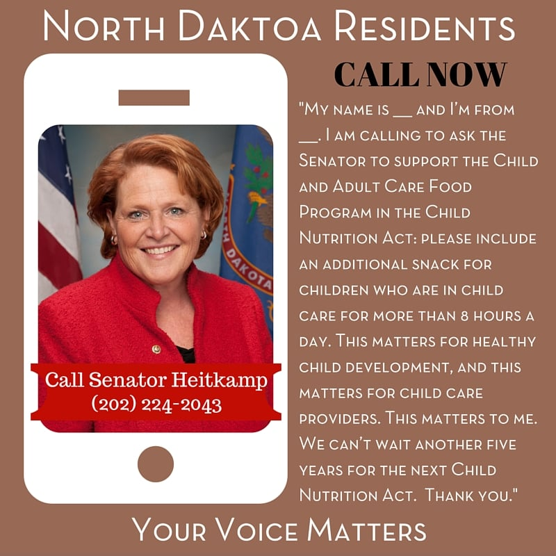 Senator Heitkamp - North Dakota Residents