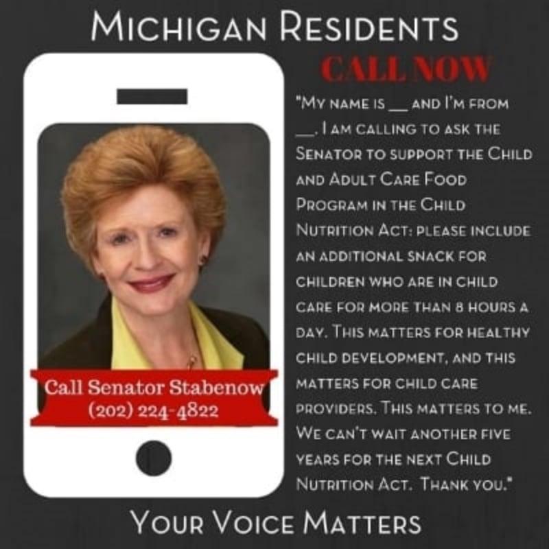 Senator Stabenow - Michigan Residents