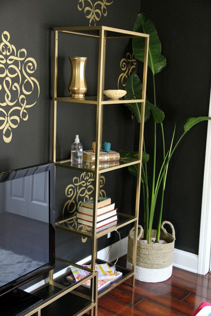gold metal ikea shelves  on astralriles.com.jpg