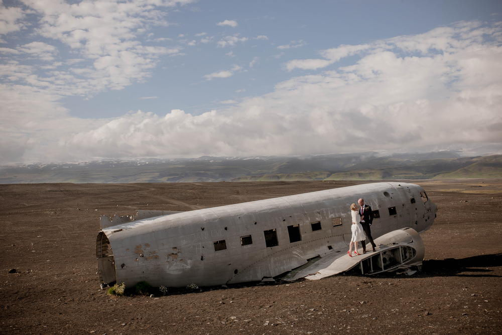 Iceland Crashed Airplane Wedding Photos by Miss Ann-1.jpg