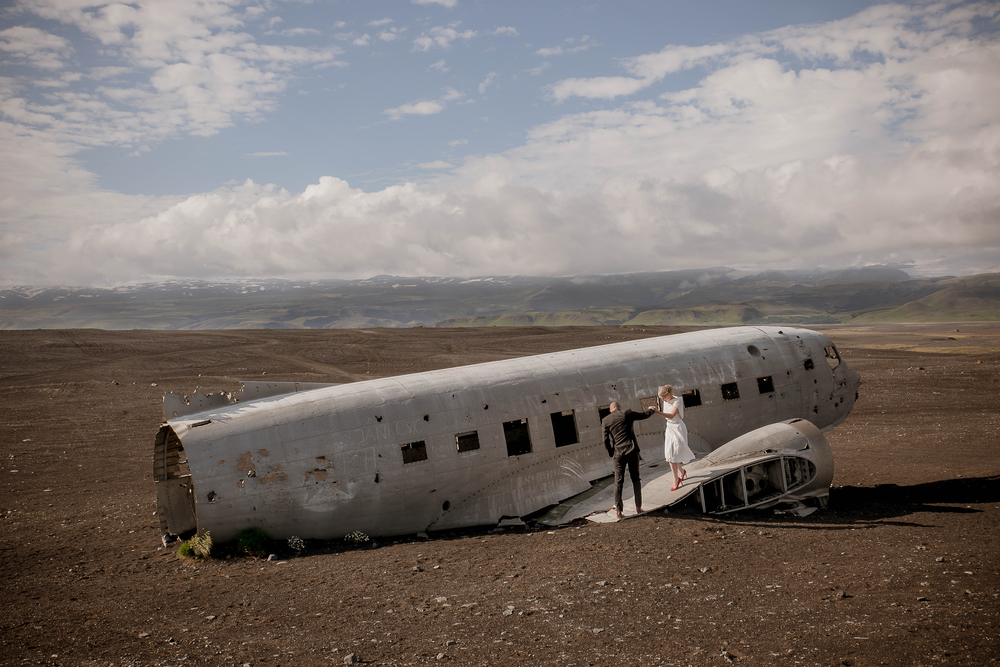 Iceland Crashed Airplane Wedding Photos by Miss Ann-2.jpg