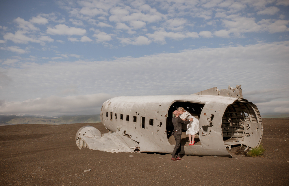 Iceland Crashed Airplane Wedding Photos by Miss Ann-5.jpg