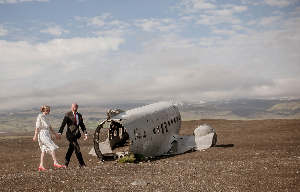 Iceland Crashed Airplane Wedding Photos by Miss Ann-6.jpg