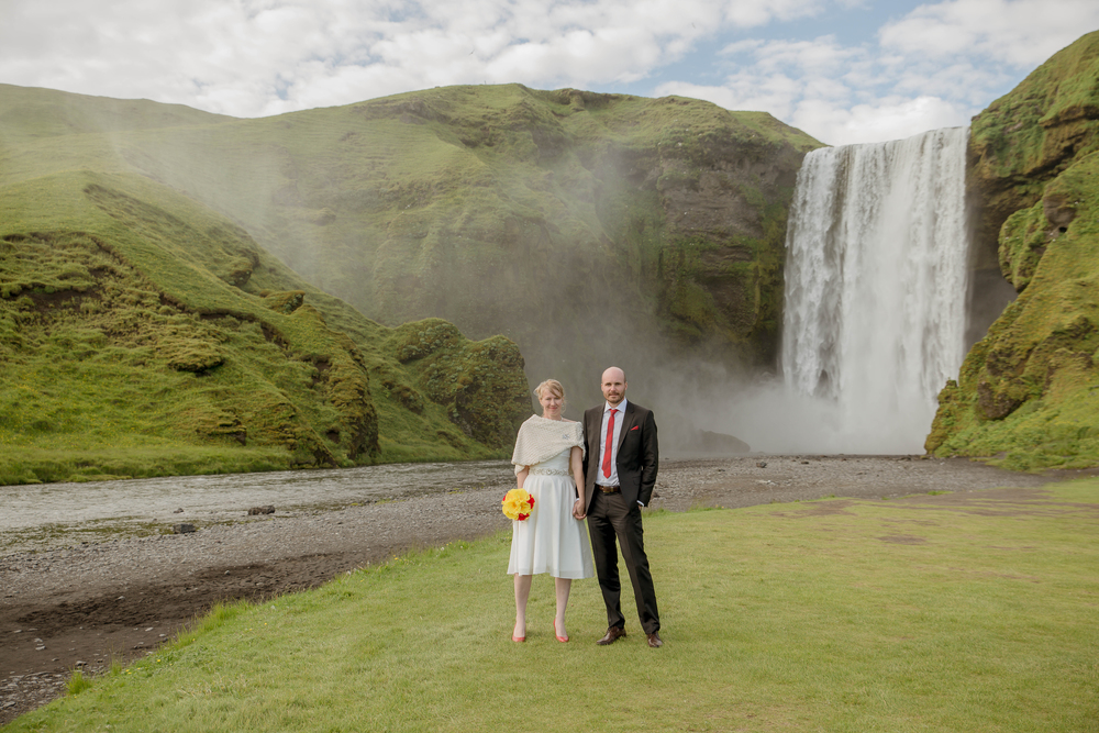 Skogafoss Waterfall Iceland Wedding Photos by Miss Ann-3.jpg