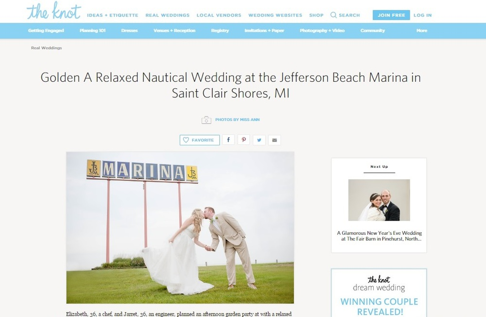 Infinity Yacht Michigan Wedding Photographer