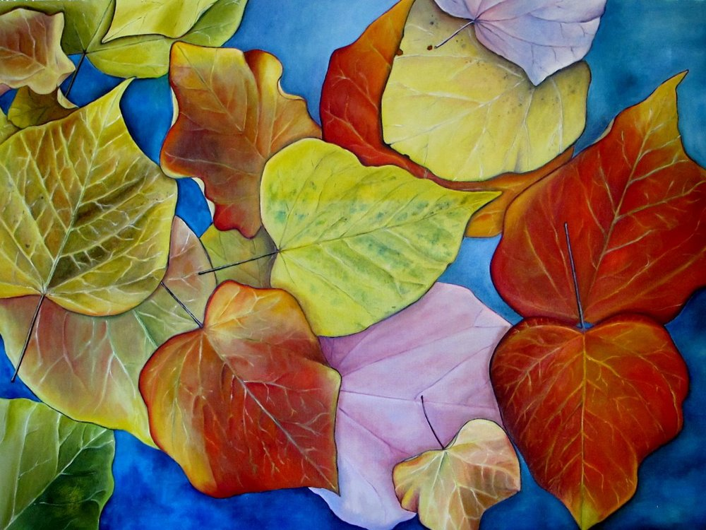 Redbud , 2014 Oil on canvas, 36 x 48 inches