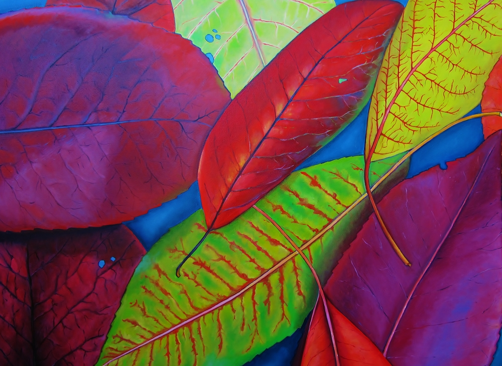 Photinia , 2014 Oil on canvas, 36 x 48 inches