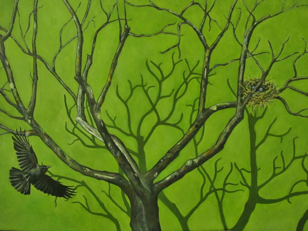 Bon Air , 2013 Oil on canvas, 24 x 36 inches