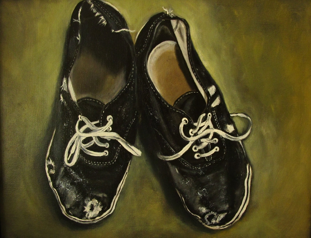 Alex's Shoes , 2012 Oil on canvas, 11 x 14 inches