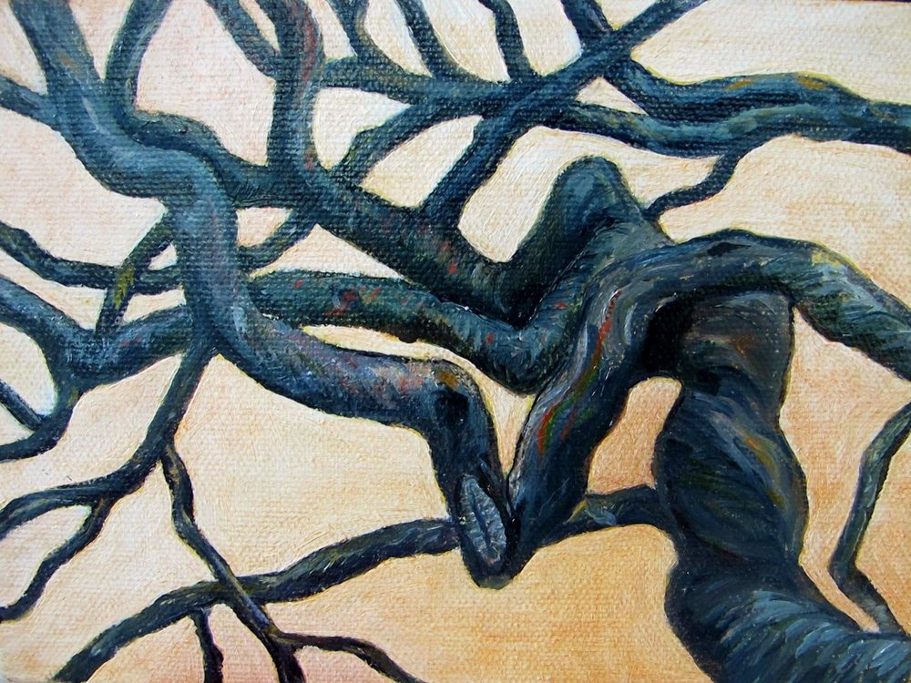Branches , 2012 Oil on canvas, 5 x 7 inches
