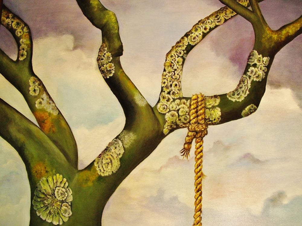 Swing , 2012 Oil on canvas, 30 x 36 inches